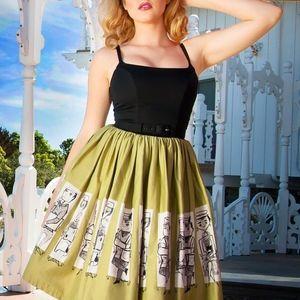 Pinup Girl Clothing, Jenny Dress, Mary Blair, XS